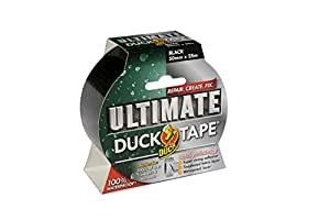 SHURE Duck Tape Ultimate 50mm X 25m Black