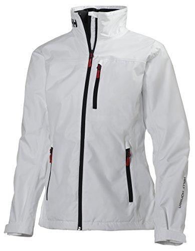 1203e5533367 Helly Hansen W Crew Midlayer Jacket - Chaqueta para Mujer, Blanco (White), L