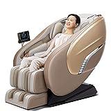 ZHJIUXING ZH Massagesessel Fernsehsessel Sessel mit Hocker Massage mit Wärmefunktion und Vibration,6 Massagemodi,Automatische elektrische Körpermultifunktion