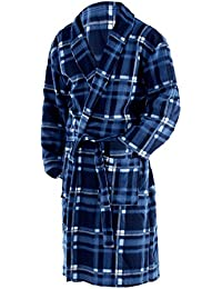 OCTAVE® Mens Polar Fleece Winter Robe / Dressing Gown Supersoft, Warm & Cosy