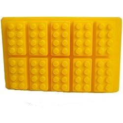 Lego Shaped Silicone Mould