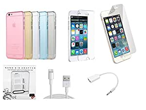 GT Combo Set For Apple iPhone 6G (Multi Color)