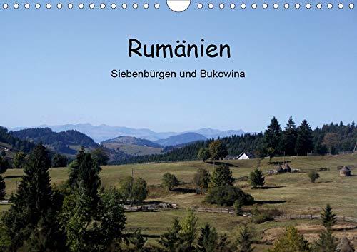 Rumänien - Siebenbürgen und Bukowina (Wandkalender 2020 DIN A4 quer): Die Schönheiten Siebenbürgens und der Bukowina in einem Kalender vereint. (Monatskalender, 14 Seiten ) (CALVENDO Orte)