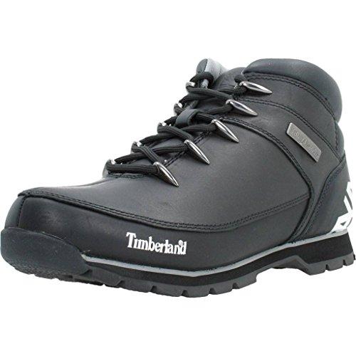Timberland Mens Euro Sprint Hiker Black Leather Boots 45.5 EU