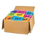 HoliColor Pack de 100 bolsas de polvo Holi, surtidas Color...