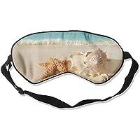Starfish Seashells Beach Sand Art Sleep Eyes Masks - Comfortable Sleeping Mask Eye Cover For Travelling Night... preisvergleich bei billige-tabletten.eu