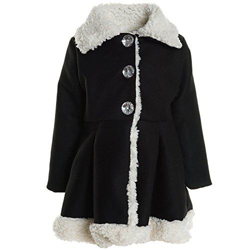 Mädchen Cardigan Kinder Winter Mantel Langarm Jacke Longsleeve Sweatshirt 20916