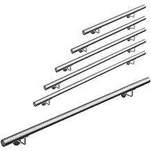 Barandilla de Escalera de Acero inoxidable AISI 304, 42mm diámetro V2Aox