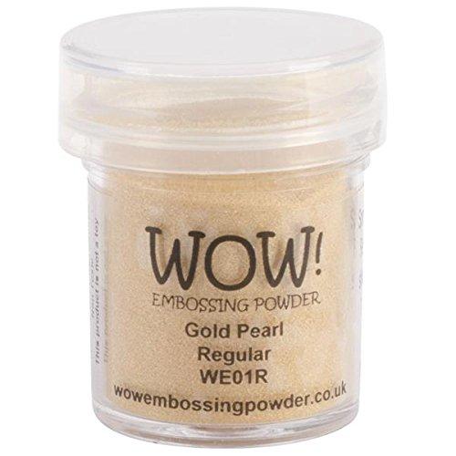 wow Gold Pearl Regular Embossing-Puder, Mehrfarbig (Dry Pearl Green)