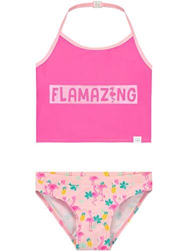 Harry Bear Bañador para Niña Flamingo Rosa 10-11 Años