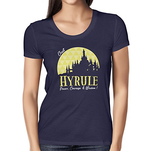 TEXLAB - Visit Hyrule - Damen T-Shirt Navy