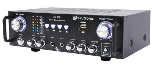 Digitale Ultra-kompakt-receiver (Skytronic AV-100 103.208 Verstärker)