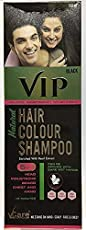 VIP Vcare Natural Hair Color Shampoo Enriched With Pearl Extract, 400ml