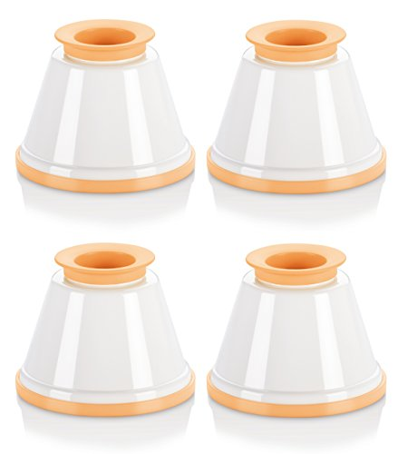 Tescoma Panna Cotta Mould Set Delicia, Assorted, 9.1 x 9.1 x 12.2 cm