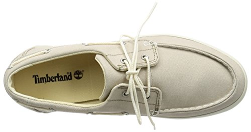 Timberland Newport Bay 2 Eye Boat Oxrainy Day Canvas, Chaussures Bateau Homme Vert (Rainy Day Canvas)