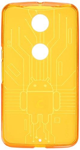 CruzerLite Nexus6-Circuit-TL/BK/OG Bugdroid Schluss Schutzhülle für Motorola Nexus 6 (3er Pack) teal/schwarz/orange