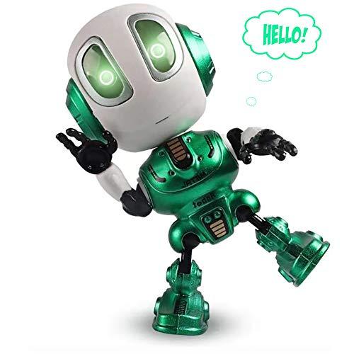 Yidarton Kinder intelligente Reden Roboter Spielzeug, Spaß interaktive Sprachsteuerung Touch, Blitz, elektronisches Spielzeug, Lernspielzeug, Kinder Jungen und Mädchen Geschenke 3-12 Jahre alt