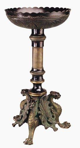 Berk - Inner Worlds Dragon Column Brass Magnificent Incense Burner