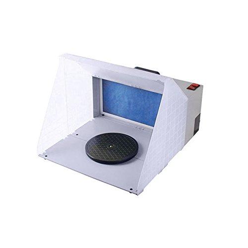 YAOBLUESEA Airbrush Absauganlage 3m³/Min Farbe Filter Farbnebel W420 für Farbnebel Außenluft Ersatzfilter Sprühnebel Außenluft