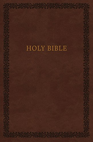 NIV, Holy Bible, Soft Touch Edition, Imitation Leather, Brown, Comfort Print