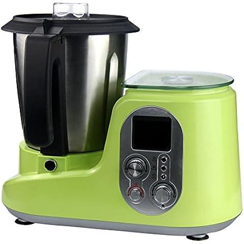 LIKECAR contatore cucina mixer zuppa di vapore Macchina Macchina Macchina di soia Supplemento Baby Food in acciaio verde