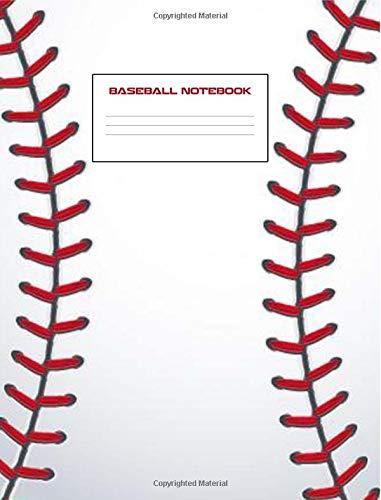 Baseball Notebook: Baseball Composition Notebook 7.44