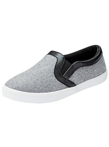 oodji-ultra-mujer-zapatillas-slip-on-con-acabado-de-piel-sinttica-gris-36-eu-35-uk