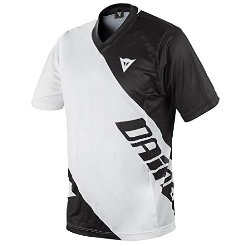 Dainese Erwachsene Shirt Basanite Short Sleeve white/black