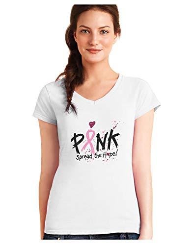 Camiseta Cuello V Mujer - Spread The Hope - Apoya