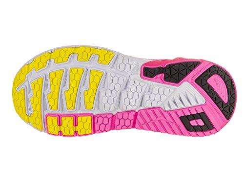 HOKA one one Arahi, Chaussures de Running Compétition Femme Multicolore (Virtual Pink / Neon Fuchsia)