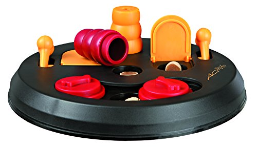 Trixie Dog Activity Flip Board Strategiespiel für Hunde, 23 cm