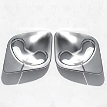 2 embellecedores cromados para cinturón de seguridad de coche para F15 2014-2018 ABS accesorios