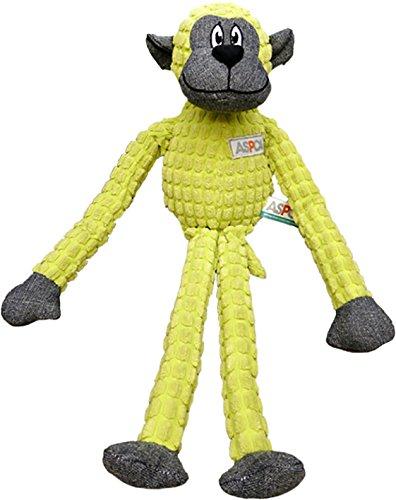 Bow Wow Pet ASPCA Jute und Pixel AFFE Hundespielzeug, Grün