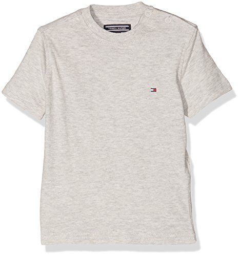 tommy-hilfiger-baby-girls-original-cn-tee-s-s-t-shirt-grigio-light-grey-heather-023-74-cm