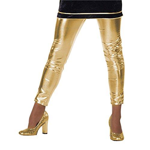 Unbekannt Aptafêtes–cs924657/40–Leggings–Gold–Größe 40