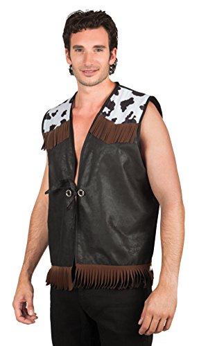 rn Weste für Erwachsene, L / XL, schwarz (Group Halloween-kostüme Männer)