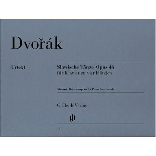 Danses Slaves Op.46 - Piano 4Ms
