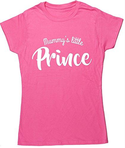 hippowarehouse-mummys-little-prince-womens-fitted-short-sleeve-t-shirt
