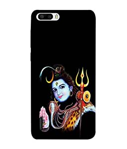 Huawei Honor 6 Plus Back Cover Lord Shiva Image Design From FUSON