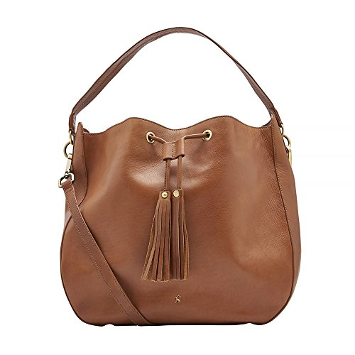 Joules Beau Leather Hobo Womens Bag (X) One Size Chestnut (Bella Hobo)