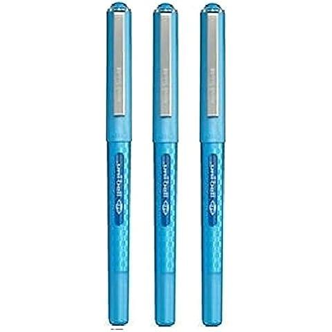 Ojo Uni bola diseñador azul claro enquiridión bien 0,7 mm punta 0,5 mm ancho de línea serie diseñador rápido secado tinta de pigmento UB-157D (3
