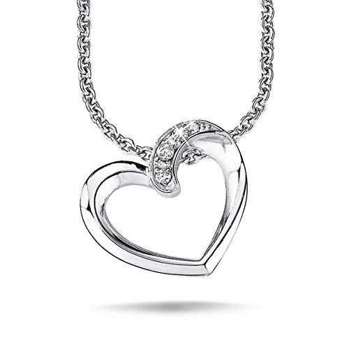 s.Oliver Jewel Damen Halskette Collier Silber SO504/1-9081875