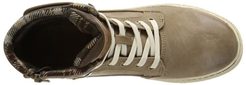 Mustang 4081504, Basket homme Marron (318 Taupe)