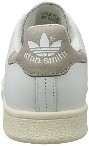 adidas Herren Stan Smith Basketballschuhe Weiß Grau JCwk9iPO