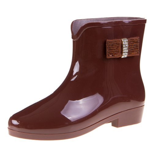 Damen Schuhe, E8-1, STIEFELETTEN Braun