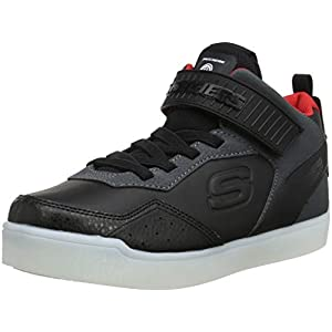 Skechers Jungen Energy Lights Hohe Sneaker grau