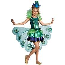 Rubies pavo real chicas remolcarnos disfraz de carnaval