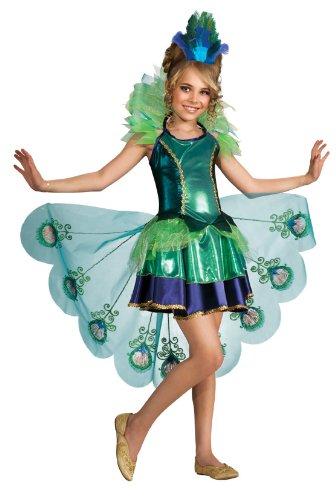 Kostüm Pfau Kinder Fasching Karneval Pfauenkostüm, Gr. S (Kind Pfau Kostüme)