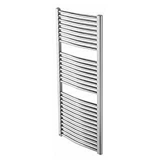 ARLEY Loco Curved Heated Towel Rail 60 x 70cm