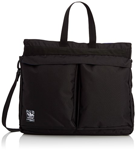 adidas Herren Tasche Classic Street Shopper Black/Night Flash S15/White-Ash, 7.5 x 45 x 40 cm, 15 Liter